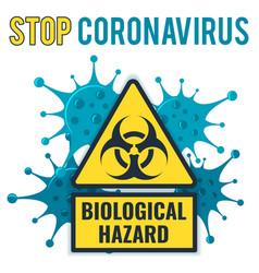 Stop 2019-ncov coronavirus concept vector