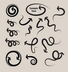 Arrow Symbols Set vector image