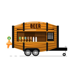 Beer pub outdoor service icon vector