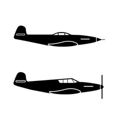 1342 military planes vector image