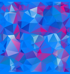 Abstract polygon square background blue pink vector