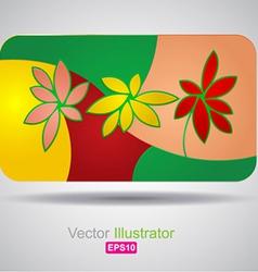 Card wallpaper design vector