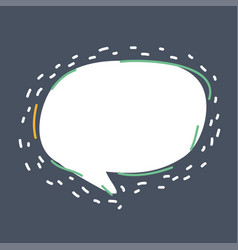 communication chat icons speech bubble vector image