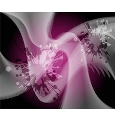 Dark purple grunge Abstract wave background vector