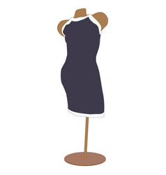 image of female dress vector image