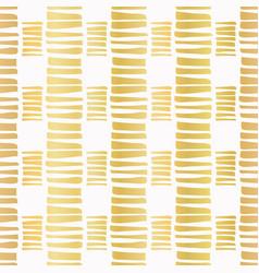 luxe gold stripes confetti hand drawn vector image
