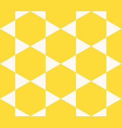 Seamless pattern repeating geometric elements vector