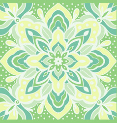 seamless pattern with arabesques vector image