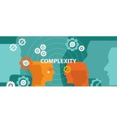 Complexity concept head vector
