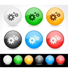 website menu vector image