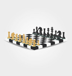 chess game design vector image