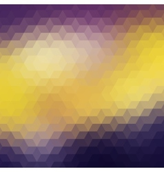 Colorful geometric background with triangles vector image