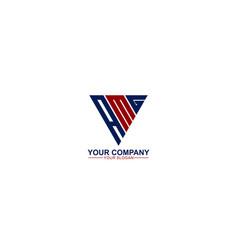 Initial amg logo template vector