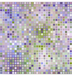 lilac background from squares mosaic effect vector image