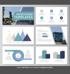 Set of blue and turquoise elements for vector