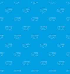 Virtual reality glasses pattern seamless vector