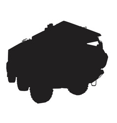 armored vehicle vector image vector image