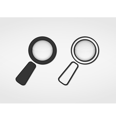 Magnifying Glass Icons vector image