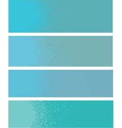 Spray paint gradient detail in light blue vector
