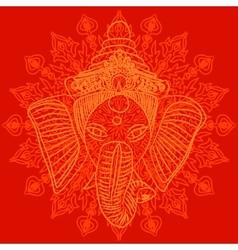 Ganesha vector image