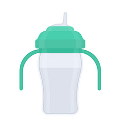 basippy cup isolated on white vector image