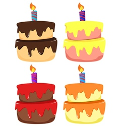 Cakes vector