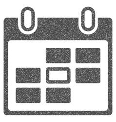 Calendar Day Grainy Texture Icon vector