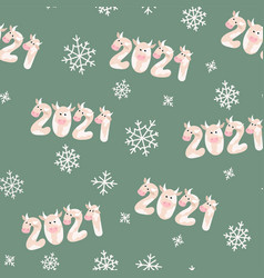 original greeting pattern for new year banners vector image