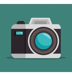 photo camera lens design graphic vector image