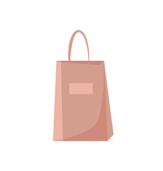 shopping bag disposable packet packaging icon vector image