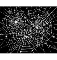 Halloween web background CCCVII vector image