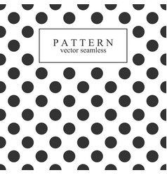 elegant dotted seamless pattern vector image vector image