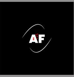 A g letter logo creative design on black color vector