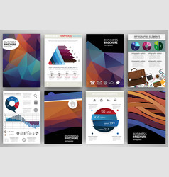 abstract backgrounds and concept infographics and vector image