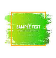 abstract brush stroke designs texture with frame vector image