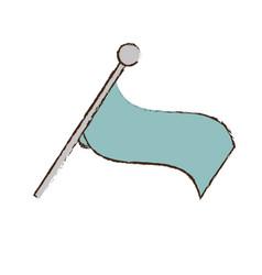 Flag ornament symbol image vector