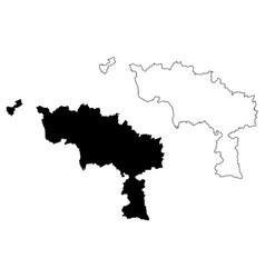 Hainaut province kingdom belgium provinces of vector