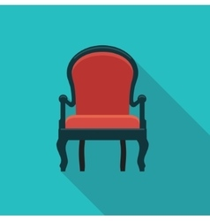 Antique chair icon vector image