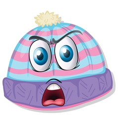 cartoon hat vector image vector image