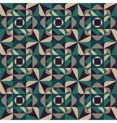 Seamless Geometric Rounded Triangle Shapes vector image