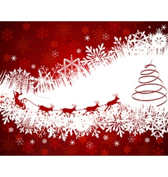 beautiful christmas new year vector image