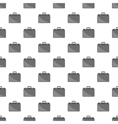 Business briefcase pattern cartoon style vector image