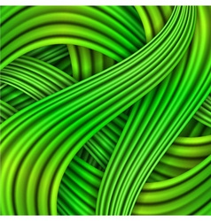 Green striped background vector