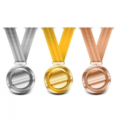 medal collection vector image