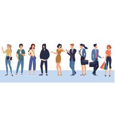 People characters various activities vector