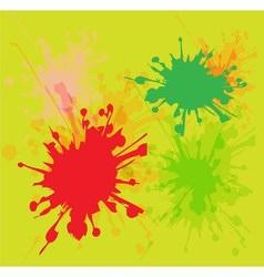 Watercolor paint splash vector