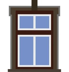 Window on the House vector