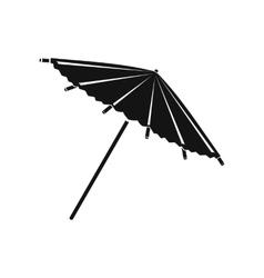Asian parasol or umbrella icon simple style vector image vector image