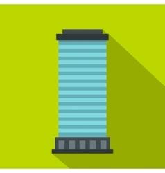 Column icon flat style vector image