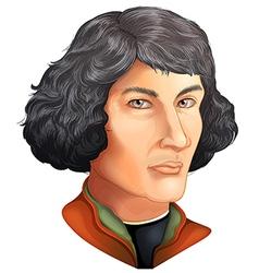 Nicolaus copernicus vector